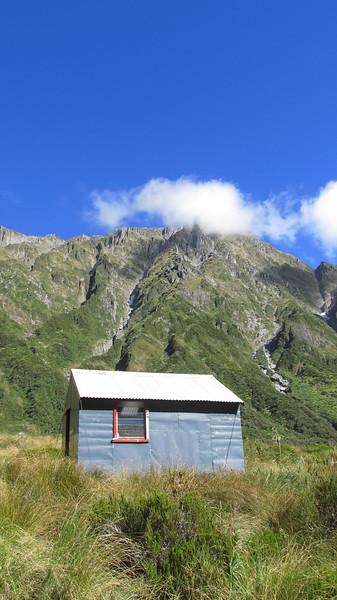 Top Tuke Hut.