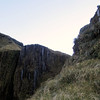 Climbing to the basin above Top Tuke Hut.