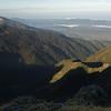Looking towards the karst landscape of Paparoa National Park.