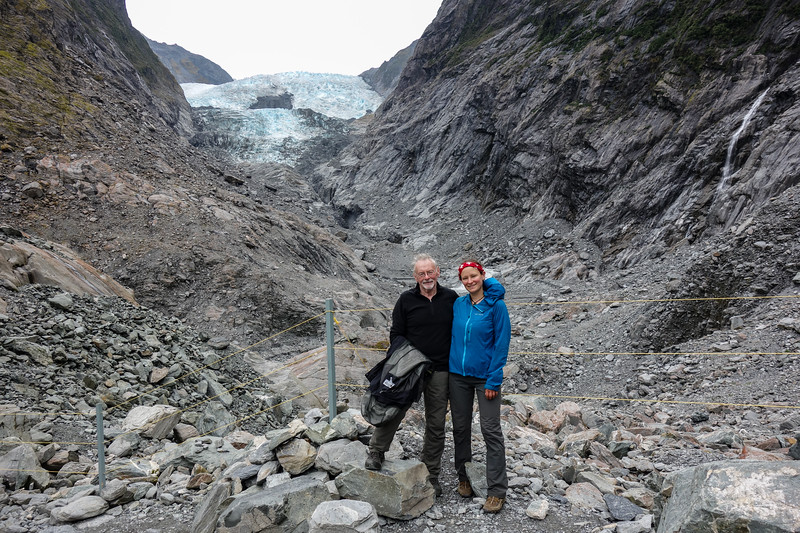 """Obligatory visit of Franz Josef glacier, which has retreated at an alarming rate since I was last here in 2014.: <a href=""""https://ninadickerhof.smugmug.com/TrampingandmountaineeringinNew/Westland/Lemmer-Peak-30-May-02-June/i-4f9srvf"""">https://ninadickerhof.smugmug.com/TrampingandmountaineeringinNew/Westland/Lemmer-Peak-30-May-02-June/i-4f9srvf</a>"""