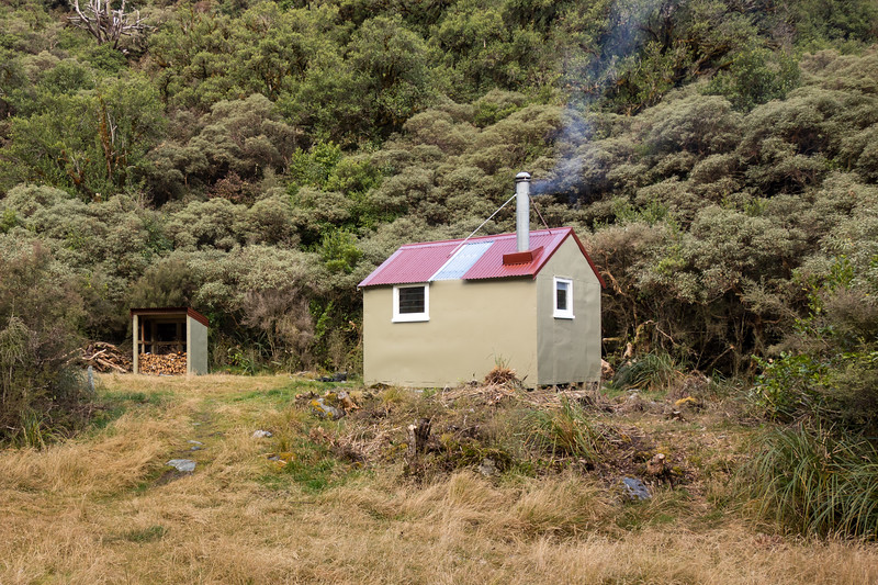 Newton Creek Hut.
