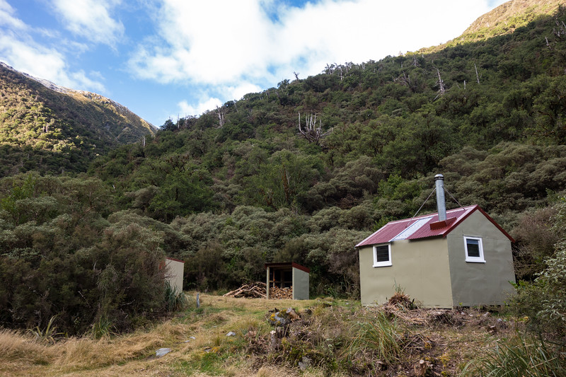 Newton Creek Hut.