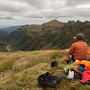 Lunch just below Pt 1572m.