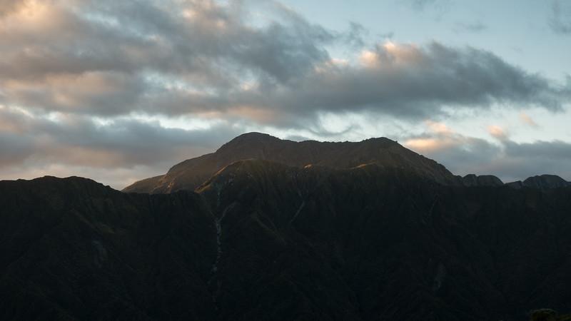 Tara Tama at sunrise.