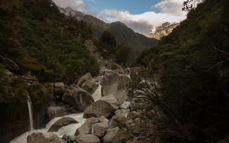 Wild Wanganui just downstream of Smyth Hut.