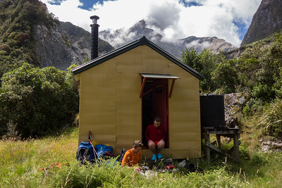 Smyth Hut, 19-21 January 2018