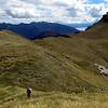 Me and Dave on the Tara Tama range near Scottys Saddle.
