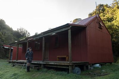 Locke Stream Hut.