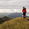 Allan and James on Genoa Peak.