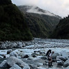 Heading further up the Wanganui early morning.