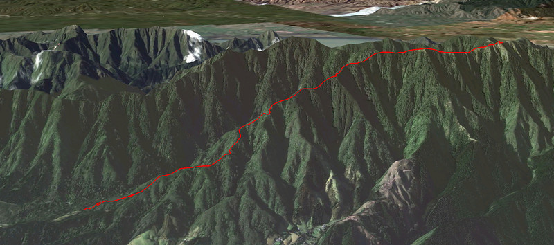 Mt Climie Google Earth Screen Shot May 2011