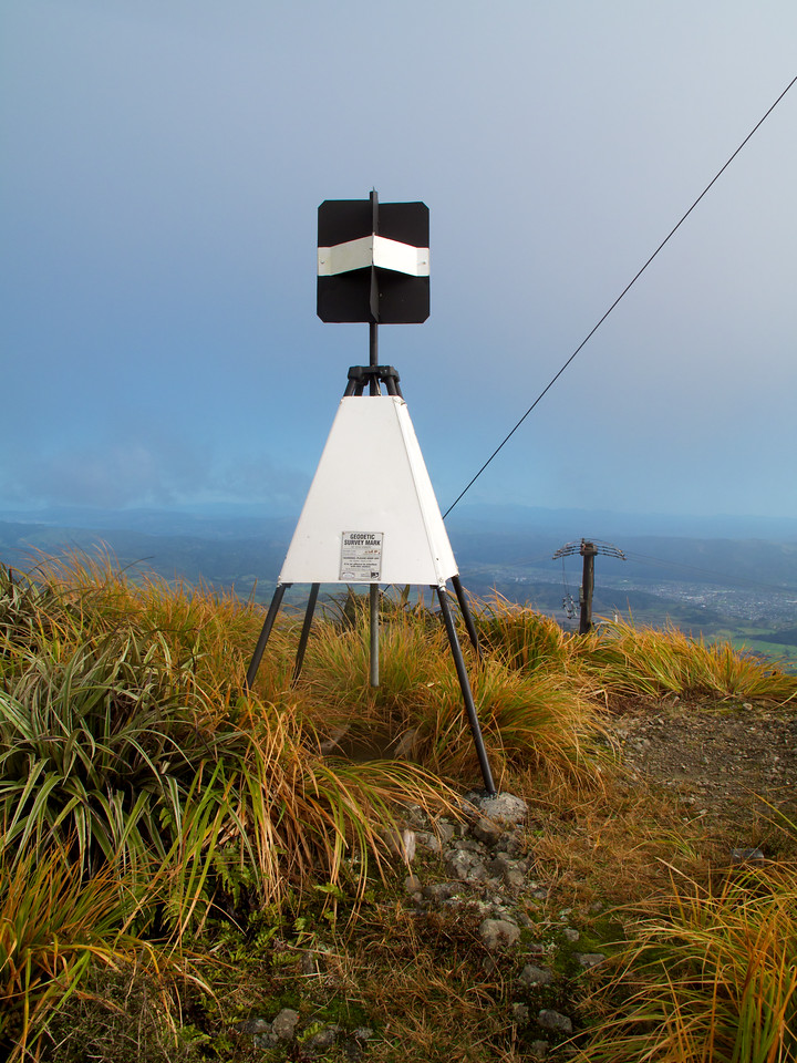Second Summit Trig Mt Climie