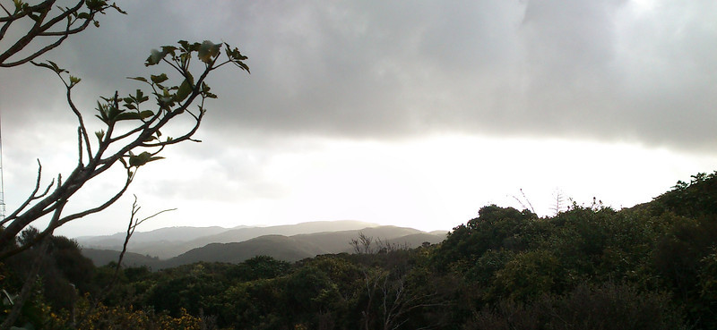 View from Pylon Summit towards Boulder Hill by Sony Xperia Active Cellphone Oct 2011