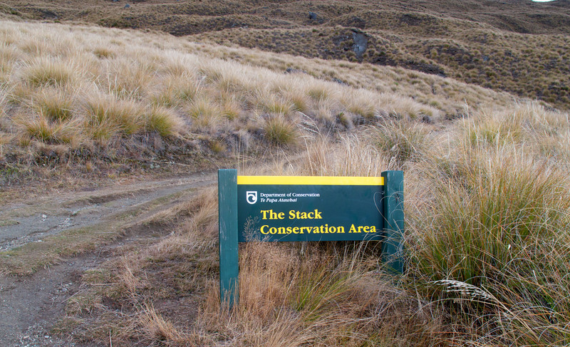 Leaving the Green Grass and starting into Alpine Section of Roys Peak Track