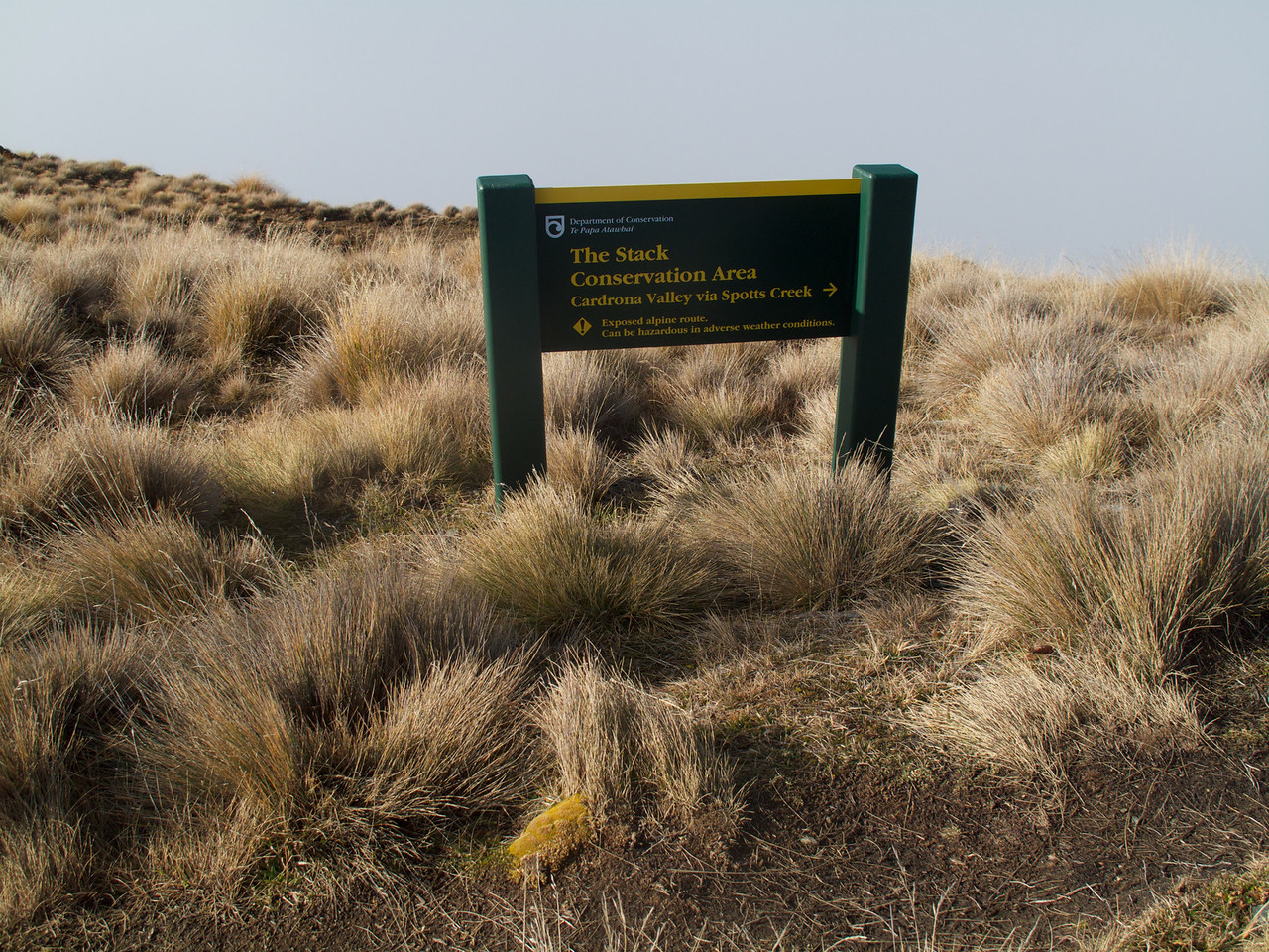The Stack Conservation Area near the Summit of Roys Peak