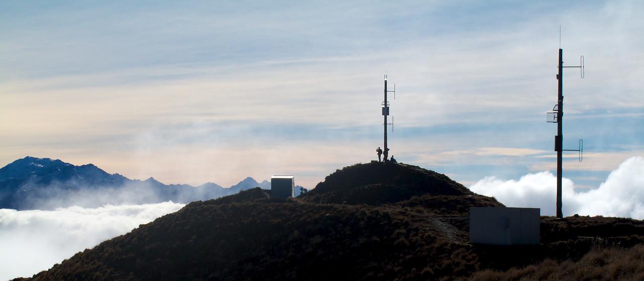 Roys Peak Radio Masts