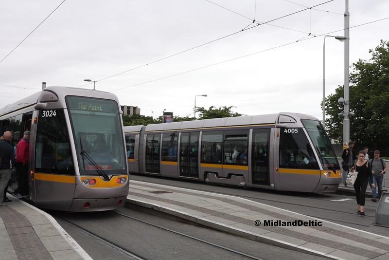 3024, 4005, Heuston Station Dublin, 23-07-2016