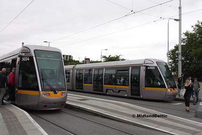 3024, 4005, Heuston Station Dublinj, 23-07-2016