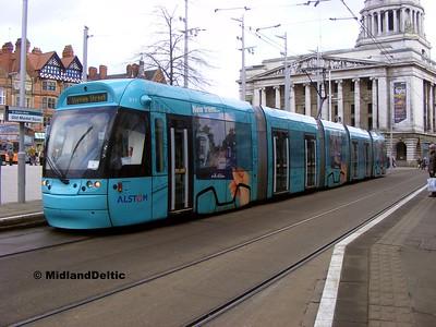 Nottingham (Tram), 22-02-2014
