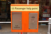 Passenger Help point at Mosley Street