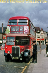 A June 1966 shot of London Transport RT 451 on route 234 at Purley. [Mike Morant collection]