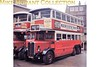 <b>MUSEUM OF BRITISH TRANSPORT, CLAPHAM</b><br> Preserved London Bus no. LT 165 standing outside the rear of the museum in 1969.<br> [<i>Mike Morant</i>]