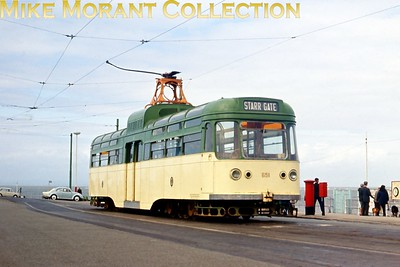 Blackpool tramcar no. 651. [Original slide by Mike Morant]