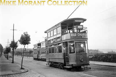 Bradford tram no. 103 in the light blue livery. [Mike Morant collection]