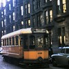 Glasgow Corporation Tramways only single deck car no. 1089 in August 1959.<br> [Original slide by <i>Mike Morant</i>]