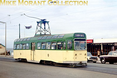 Blackpool tramcar no. 618. [Original slide by Mike Morant]