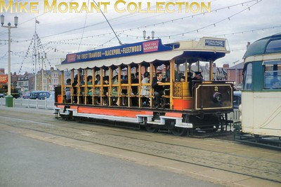 The preserved Blackpool & Fleetwood 'rack' tramcar no. 2. [Mike Morant collection]
