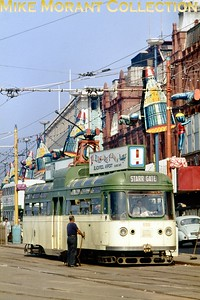 Blackpool tramcar no. 659. [Original slide by Mike Morant]