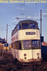Blackpool balloon tramcar no. 700. [Original slide by Mike Morant]