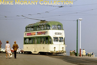 Blackpool balloon tramcar no. 720. [Original slide by Mike Morant]