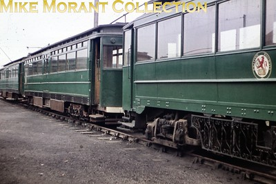 Former GCR tram no. 3 at Pyewipe depot on the Grimsby & Immingham Light Railway photographed by yours truly in the first week of September 1960. [Original slide by Mike Morant]