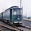 Former Gateshead tram no. 23 at Pyewipe depot on the Grimsby & Immingham Light Railway photographed by yours truly in the first week of September 1960.<br> [Original slide by <i>Mike Morant</i>]