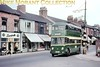 Tees-Side Railless Traction Board trolleybus no. 16.<br> [<i>Mike Morant collection</i>]