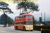 Huddersfield trolleybus no. 636.<br> Kodachrome processing date JUL67.<br> [<i>Mike Morant collection</i>]