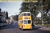Newcastle trolleybus no. 528.<br> Kodachrome undated.<br> [<i>Mike Morant collection</i>]