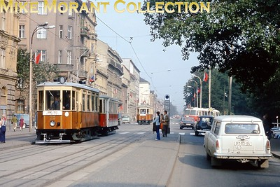 Brno, Czechoslovakia, tramcar no. 72 photographed on 3/9/74. [Mike Morant collection]