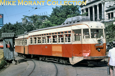 Calcutta, as it was back then, tramcar no. 192 taken in November 1978.