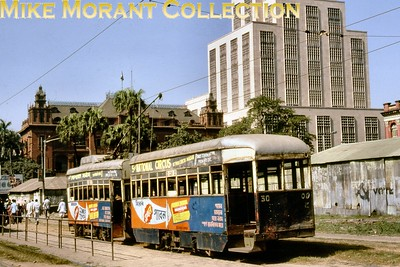 Calcutta, as it was back then, tramcar no. 30 taken in December 1981. [Mike Morant collection]