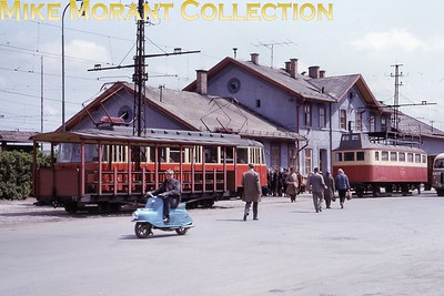 "Czechoslovakian tram. Not a great slide and the only info I have is ""Poprad Tatry 26/5/65"". [Mike Morant collection]"