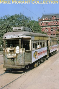 Calcutta, as it was back then, tramcar no. 81 taken in December 1981. [Mike Morant collection]