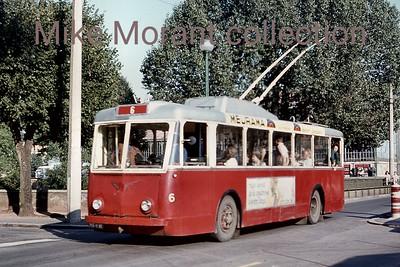 Trolleybuses: non-British