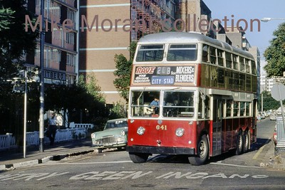 Johannesburg, South Africa, trolleybus dated 28/3/77 BUT 2nd series 1956 Fleet no. 641 Route 20B [Mike Morant collection]