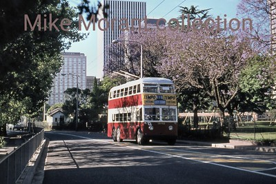 Johannesburg, South Africa, trolleybus dated 10/78 BUT 2nd series 1956 Fleet no. 648 Route 20B [Mike Morant collection]