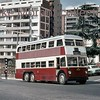 Johannesburg, South Africa, trolleybus dated 11/3/76<br> Sunbeam IV 1959<br> Fleet no. 707<br> Dunkeld route 2A<br> [<i>Mike Morant collection</i>]