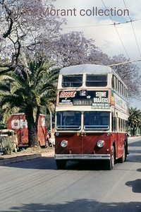 Johannesburg, South Africa, trolleybus dated 27/10/77 BUT 1st series 1948 Fleet no. 621 Dunkeld route 2A [Mike Morant collection]