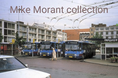 Holland's famed Arnhem trolleybuses. [Mike Morant collection]